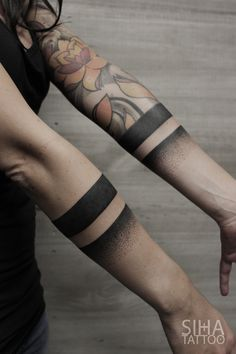Lines Tattoo by Jota