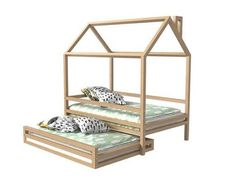 friends of your child sometimes spend the night you? or relatives from the child remain on a few days? pay attention to bed House with extra bed on wheels! bed made of the Siberian Pine higher quality. term of the manufacture of 2 weeks. delivery time 7-14 working days.