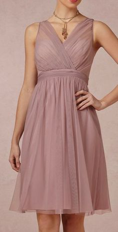 BHLDN  Tansy Dress. LOVE the neckline.