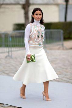 Outfit Inspo: Miroslava Duma x Paris Fashion Week