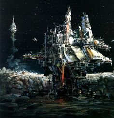 ~ by john berkey .. awesome!!! #sci #fi #art