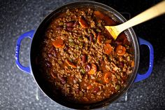 There is no better comfort food then a hearty chili. Here's a great recipe from smittenkitchen.com