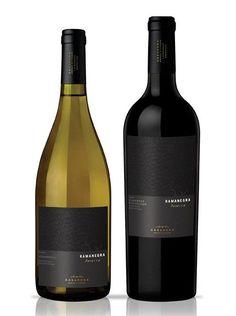 label / Ramanegra Reserva wine / vinho / vino  #vinosmaximum