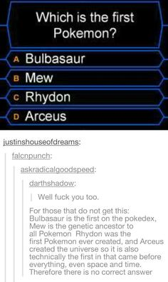 Pokemon mindblown