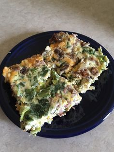 Protein packed, clean eating, 21 day fix friendly breakfast casserole