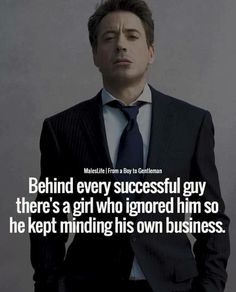 Positive Quotes : QUOTATION – Image : Quotes Of the day – Description Behind every successful guy theres a girl. Sharing is Power – Don't forget to share this quote ! Boss Quotes, Attitude Quotes, Positive Quotes, Motivational Quotes, Inspirational Quotes, Wisdom Quotes, Life Quotes, Daily Quotes, Gangster Quotes