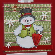 Tinas kreative Seite - Weihnachtssquare #8
