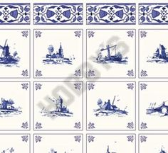 Colour: Blue on Ivory.  1/12th Scale Wallpaper.  Size: 440mm x 300mm.  Many more wallpapers in stock.