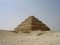 Grain Silos were the Hallmark of Joseph File:Step Pyramid of Djoser.jpg