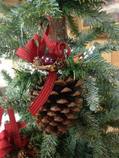 Decoraciones de ornamento de la navidad ornamento hecho a mano