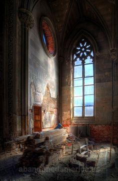 church of the assumption of the blessed virgin mary, philadelphia - fine art photographs by matthew christopher murray of abandoned america