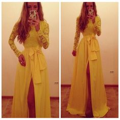 Missguided Neomi Lemon Sweetheart Bandeau Bodycon Maxi Dress in