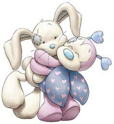 abraço coelho e joaninha