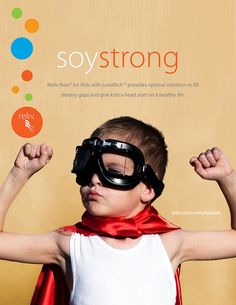 Soy Strong: Reliv Now® for Kids with LunaRich™ by Reliv International, via Flickr #soy #kids #Reliv