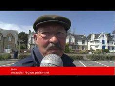 htt)://www.carnac-tv.fr  Reportage TV Quiberon 24/7 - 25 Avril 2012 - La tempete qui sévit en Bretagne n'a pas épargnée Carnac-plage dans le Morbihan.