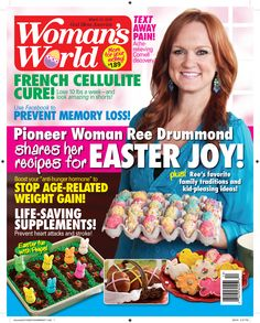 Feature on Easter Woman's World Magazine