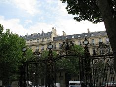 Entrance, Parc de Monceau, Paris
