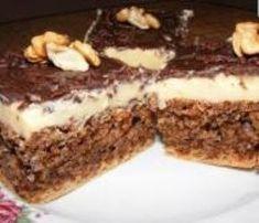 Prăjitură de post cu nucă Sweets Recipes, Cake Recipes, Yami Yami, Vegan Cake, Fudge, Tiramisu, Biscuits, Deserts, Food And Drink