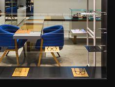 XYZ Arquitectos Associados - Óptica Médica Rogério - S.Mamede - Matosinhos - Portugal - interior design - optical store