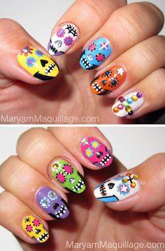 ! Maryam Maquillage !: Dia de los Muertos: Sugar Skulls & Everything Nice!