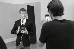 Lights, camera, action – a look behind the scenes of the BOSS Menswear pre-Fall 2016 shoot