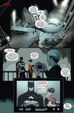 Jason Todd and Batman part 3 in Red hood and the Outlaws Rebirth. Serious. Sexy