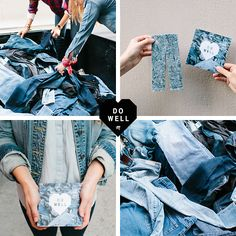 Give Your Old Jeans a Second Life | Madewell.com