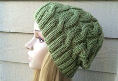 How to Knit a Cable Hat, Lilu's Knitting Corner video # 6