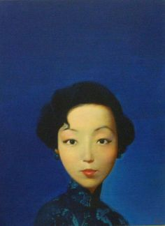 artist Liu Ye (刘野; b1964, Beijing, China) | Liu Ye's interest in Western art and his experience studying in Berlin distinguishes him from many of his contemporary Chinese artists who have turned their art as a weapon against the Communist Regime after the Tiananmen Square protest in 1989.