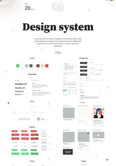 New Nourish on Behance Design Ui, Wireframe Design, Design System, Tile Design, Website Style Guide, Web Style Guide, Style Guides, Interface Web, User Interface Design