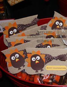 Stuck on Stampin': Craft Bazaar Round-Up 2011  Turkey Treats