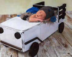 Truck Photo Prop Newborn Photography Prop Newborn von MrAndMrsAndCo