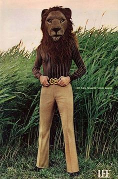 """""""Lee can change your image."""" 1971"""