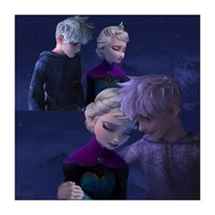 Jack: It's okay Elsa I'm here Elsa: Who are you Jack: I'm your father