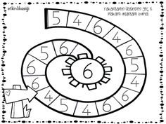 6 RAKAMI Math For Kids, Coloring Pages, Kindergarten, Diagram, Symbols, Peace, Sayings, School, Note Cards