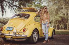 Victrix valley 1968 volkswagen beetle baja bug for sale photos technical specifications description Carros Retro, Kdf Wagen, Female Friends, Vw T1, Foto Pose, Vw Beetles, Beetle Bug, Female Poses, Car Girls