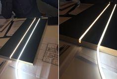 Lighting under shelf