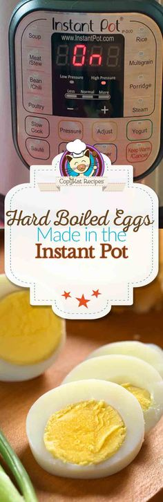 You can make hard boiled eggs in an  Instant Pot in no time.