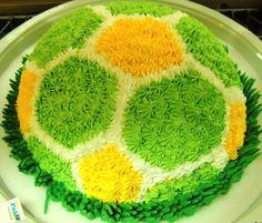 Torta bola do brasil - BRAZUKA