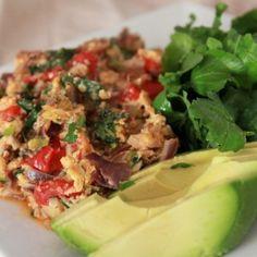 Egg and Avocado Recipe
