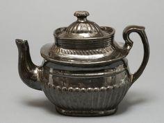 teapot, 19th century, American