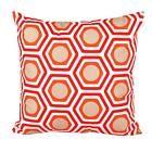 Geometric Shape Sofa Bed Home Decor Pillow Case Cushion Cover Orange