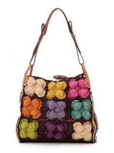 JAMIN PUECH crochet purse Bag
