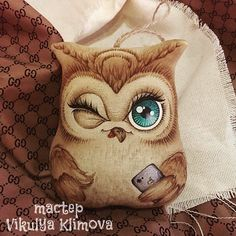 Fabric Toys, Fabric Crafts, Sewing Crafts, Owl Crafts, Animal Crafts, Pet Toys, Doll Toys, Funny Toys, Needle Felted