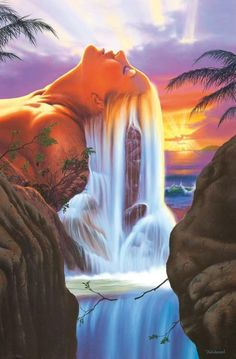 JIM WARREN. I have this painting in my living room on canvas
