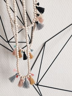 Bracelet / collier WOOD by Chouette Fille