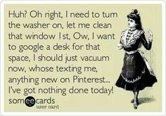 Me... cleaning ADHD