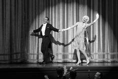 Jean Dujardin and Missi Pyle in The Artist Jean Dujardin, The Artist Movie, Artist Film, Missi Pyle, Best Costume Design, Golden Globe Nominations, Best Director, Michel, Best Actor