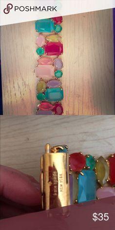 Kate spade Bracelet Multi color gem bracelet kate spade Jewelry Bracelets