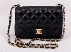 Женская сумка CHANEL (Шанель) mini Lambskin Flap Bag, Шанель мини